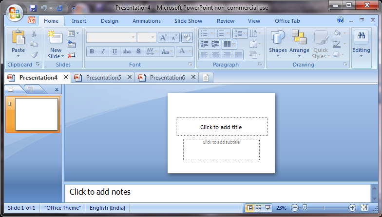 How To Get Tabbed Interface In Word, Excel, PowerPoint 2003