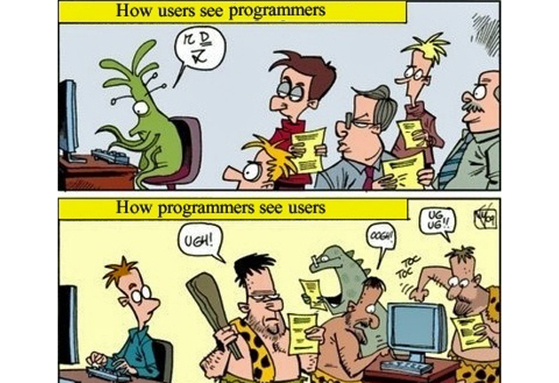 Programmers Vs. Users