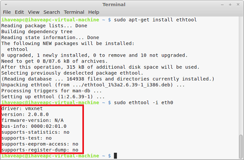 How To Quickly Find NIC Firmware And Driver Information In Linux Mint / Ubuntu