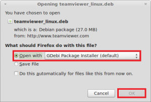 How To Install TeamViewer 7 In Linux Mint / Ubuntu