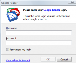 Google Reader synchronization for FeedDemon