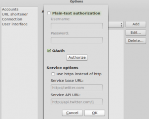Using OAuth for Qwit