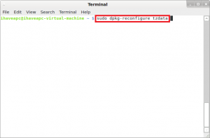 How To Configure Your Time Zone From Terminal In Linux Mint / Ubuntu