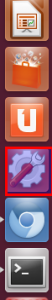 System settings icon in Ubuntu 12.04 LTS