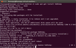 How To Monitor HDD Temperature From Linux Terminal Linux Mint / Ubuntu
