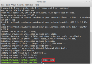 How To Quickly Mount Windows Share From Terminal In Linux Mint / Ubuntu