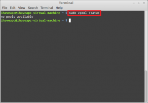 Installing And Using ZFS In Linux Mint / Ubuntu