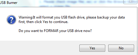Formatting and creating a bootable USB drive