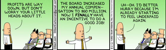 The joys of being a corporate ceo : funny