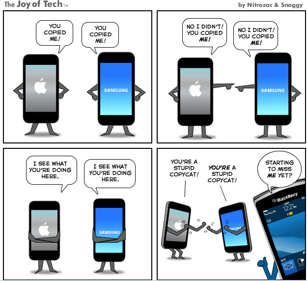 Mobile devices wars : explained