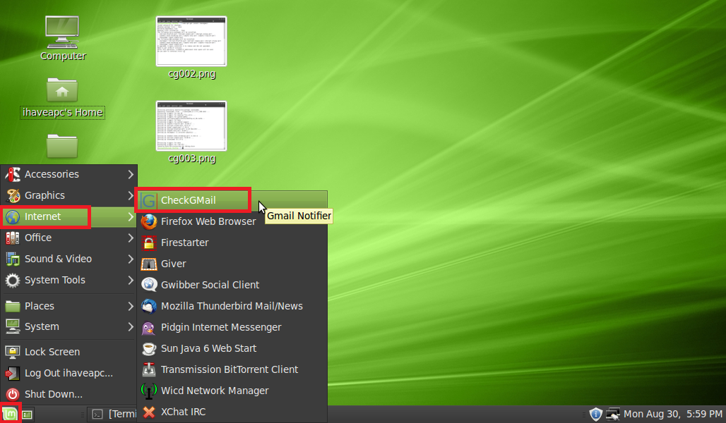 CheckGmail: A Cool Gmail Notifier For Linux Mint / Ubuntu - I Have A
