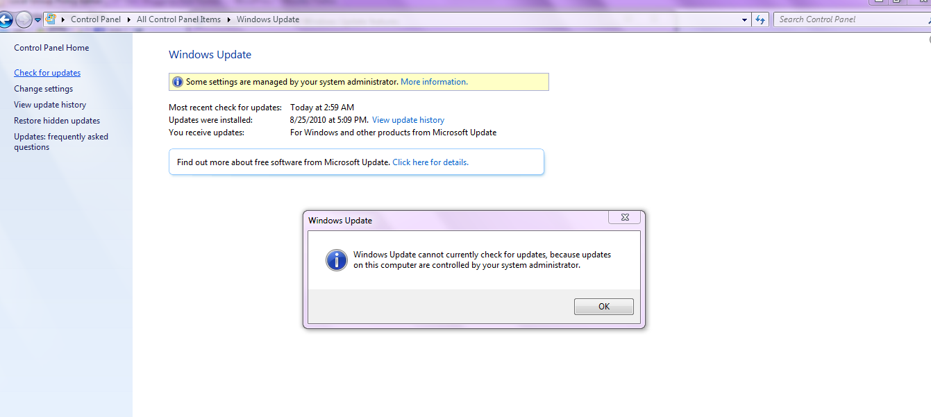 manually install windows 7 updates