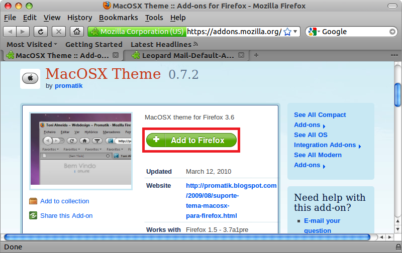 How To Install Mac OS X Transformation Pack In Ubuntu 10 10