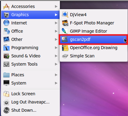 How To Convert Scanned Documents To PDF In Linux Mint / Ubuntu - I