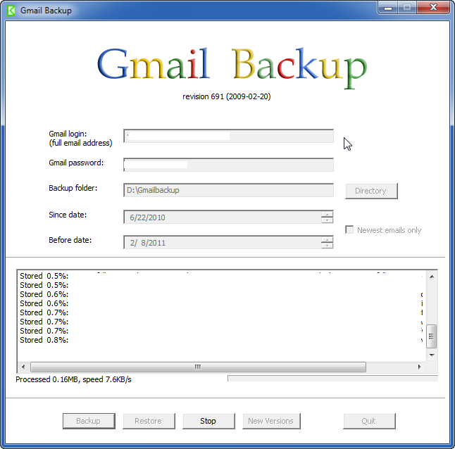 How To Backup Gmail Account - I Have A PC | I Have A PC