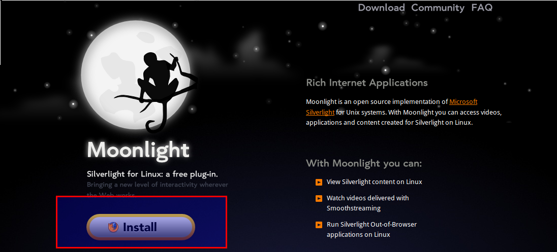How To View Silverlight Based Websites From Linux Mint