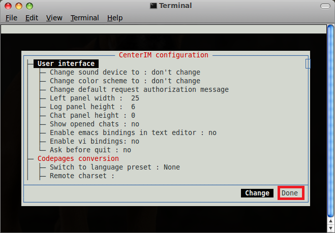 Centericq: A Cool Multiprotocol IM For Linux Terminal - I Have A PC