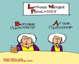 lose weight photoshop