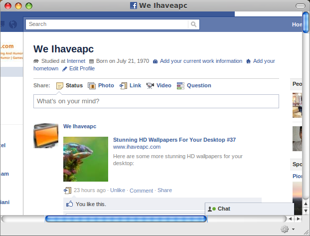 How To Install And Use Facebook Web App In Linux Mint