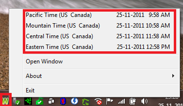 How To View Current Time Of Various Cities Around The World In Windows