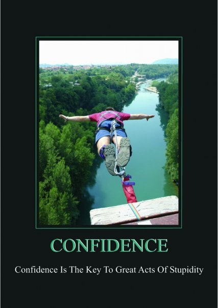 Confidence Vs. Courage