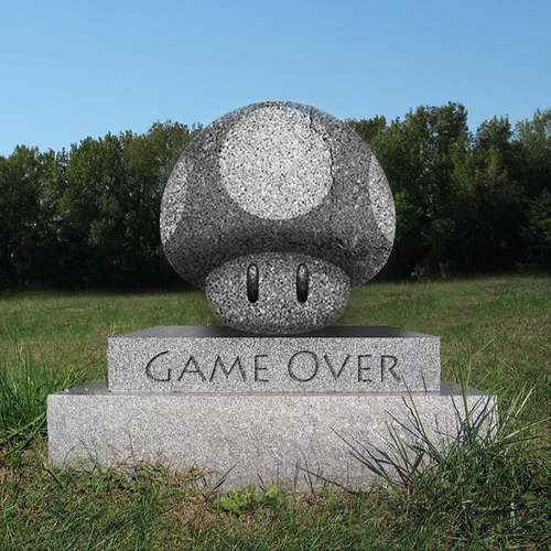 Gaming Geek's Tombstone