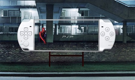 Cool PSP Billboard Ad