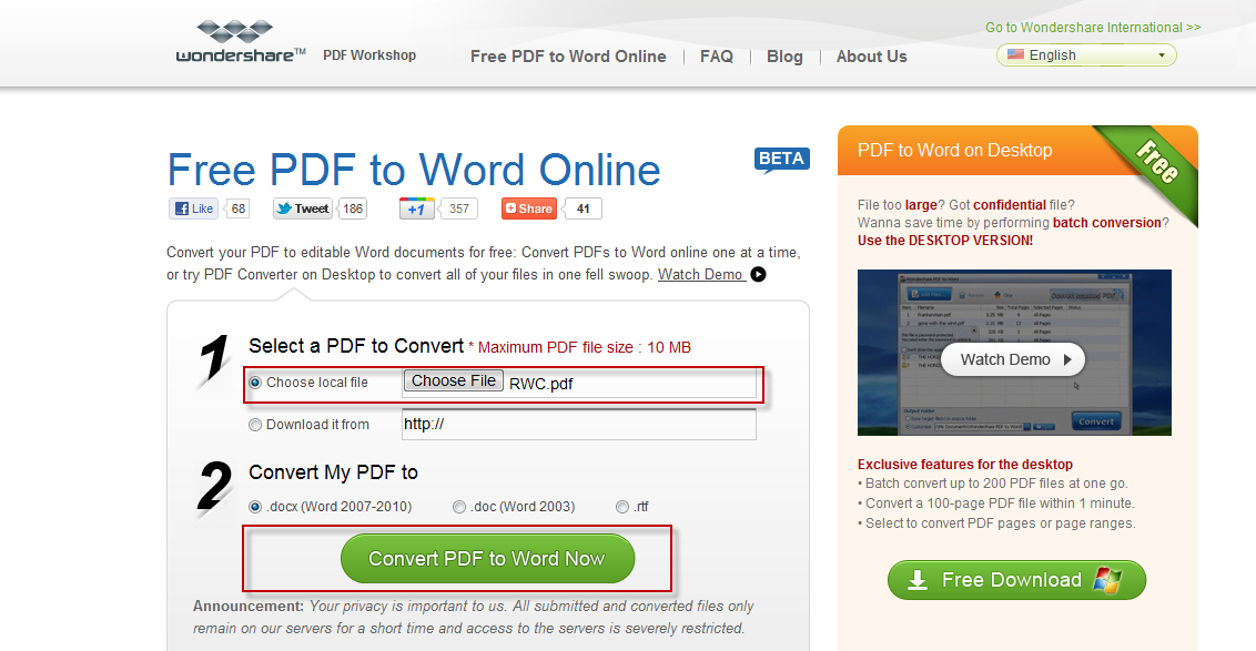 Quickly Convert PDF Documents To Word Format Online For Free