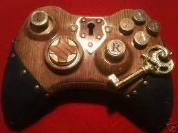 Wooden game controller