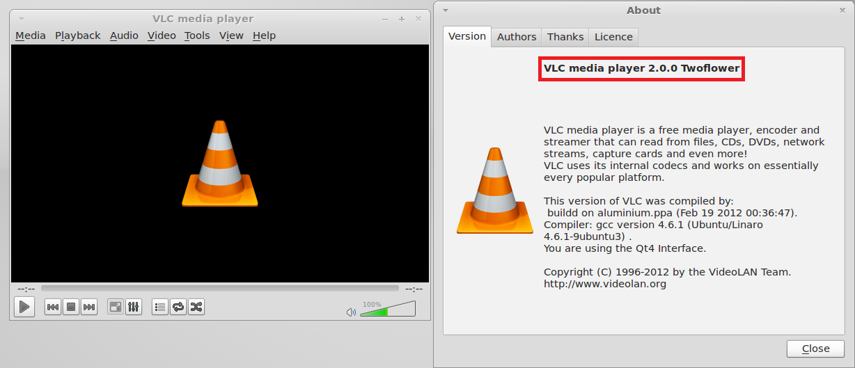 How To Install VLC 2.0 In Linux Mint 12 / Ubuntu 11.10