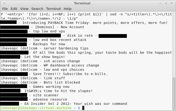 How To Quickly Check Your Unread Gmail From Linux Mint / Ubuntu Terminal