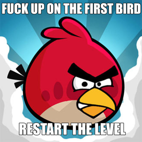 Angry Birds Cheat Sheet