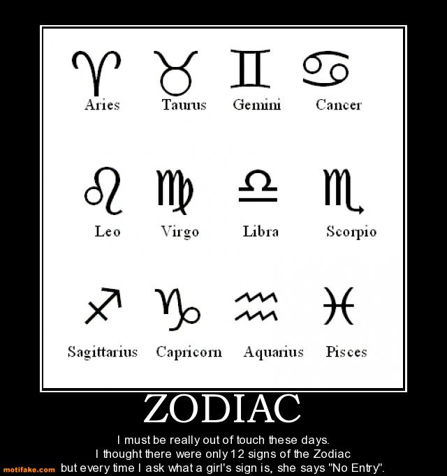 Zodiac Signs For Geeks
