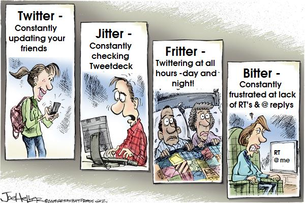 Emotions of a Twitter user