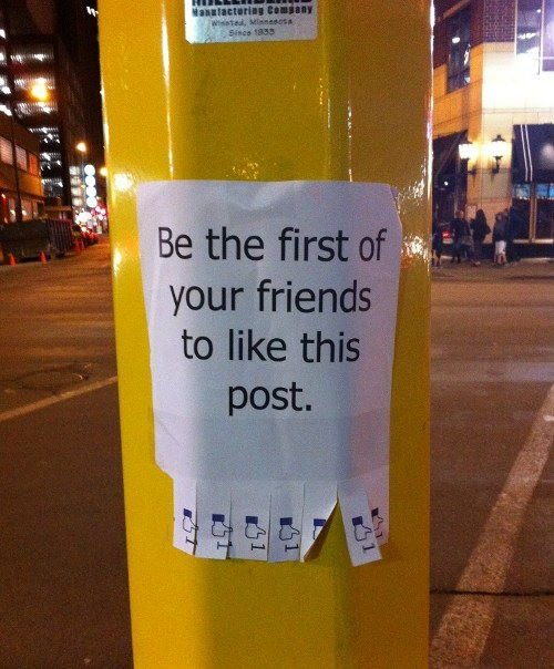 Facebook in real life : funny