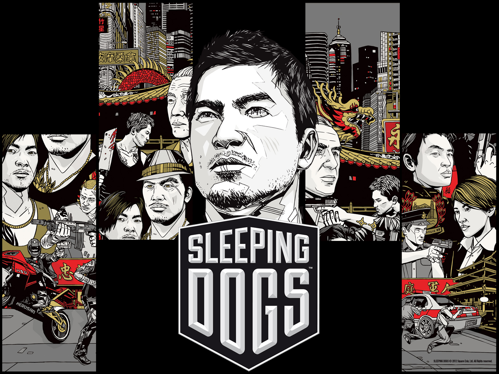 Sleeping Dogs HD Wallpapers