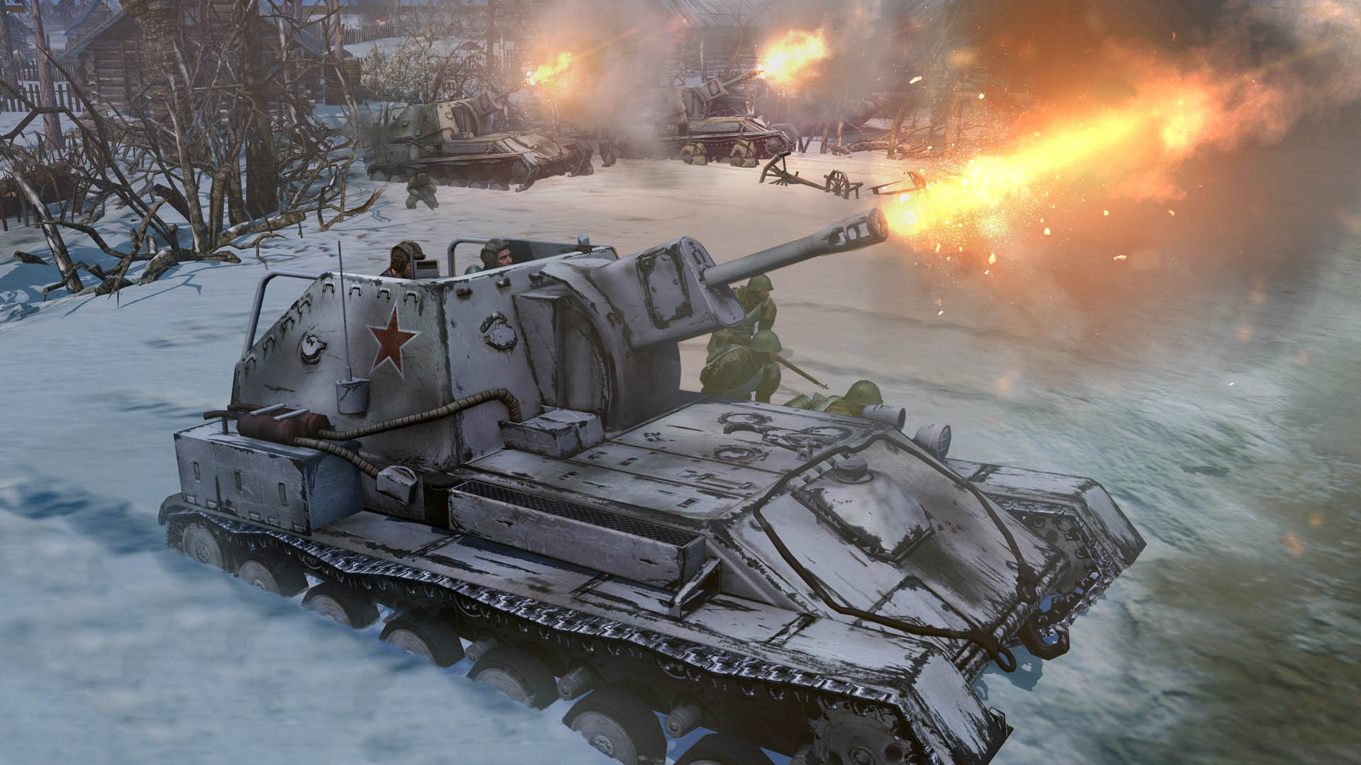 company of heroes 2 : hd wallpapers | i have a pc