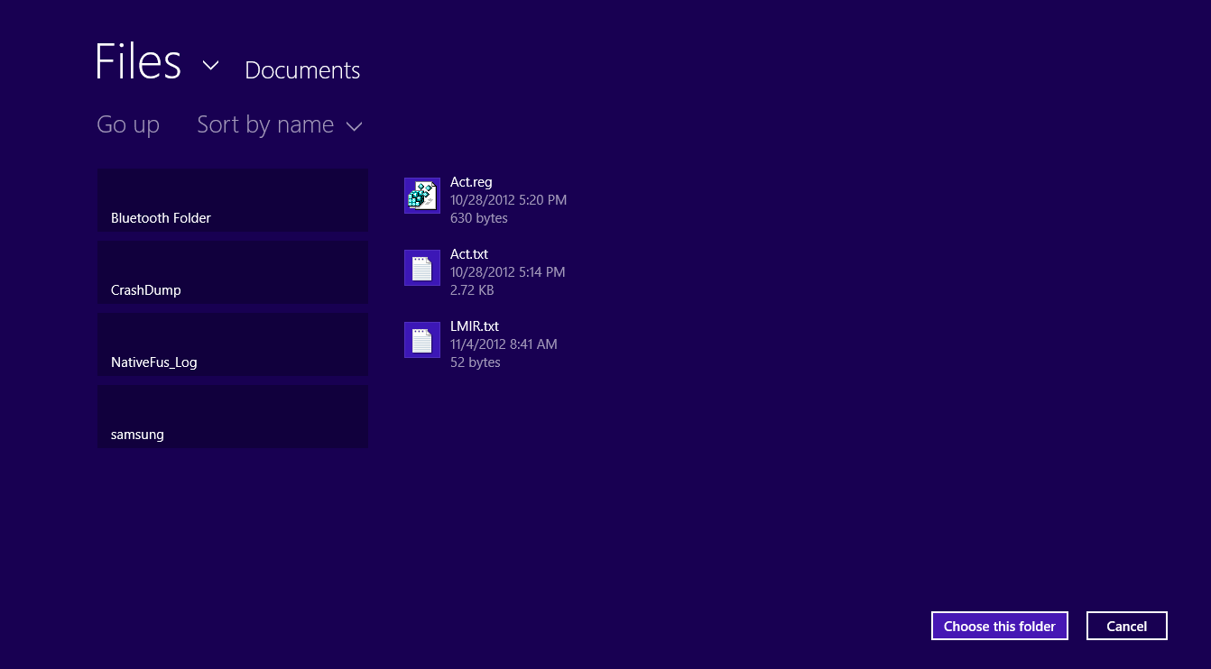How To Get A Metro Style File Explorer In Windows 8