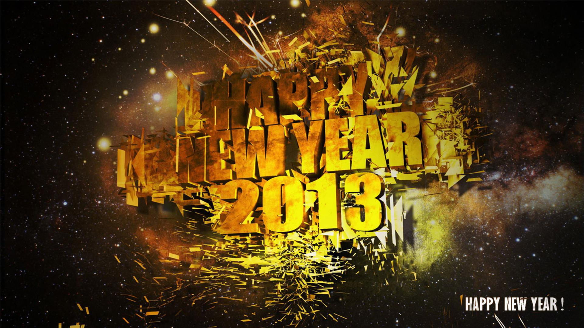 happy new year 2013 hd wallpapers | i have a pc