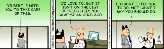 Evil boss management style : funny