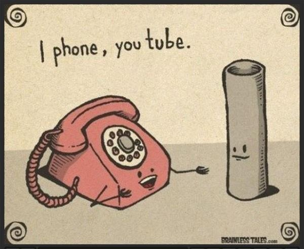 iphone and youtube : before there was digital age