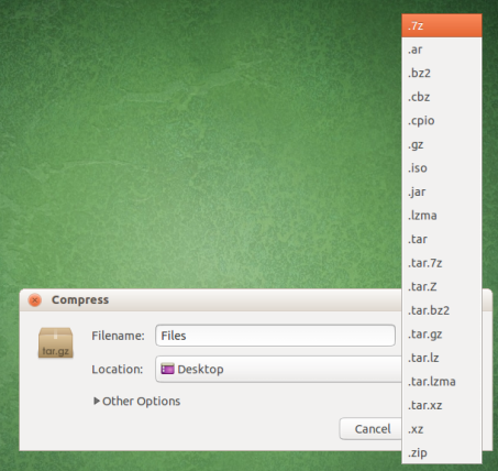 Install And Use 7zip Compression/Uncompression In Ubuntu - I Have A