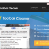 Toolbar Cleaner homepage