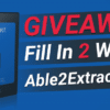 able2extract professional giveaway