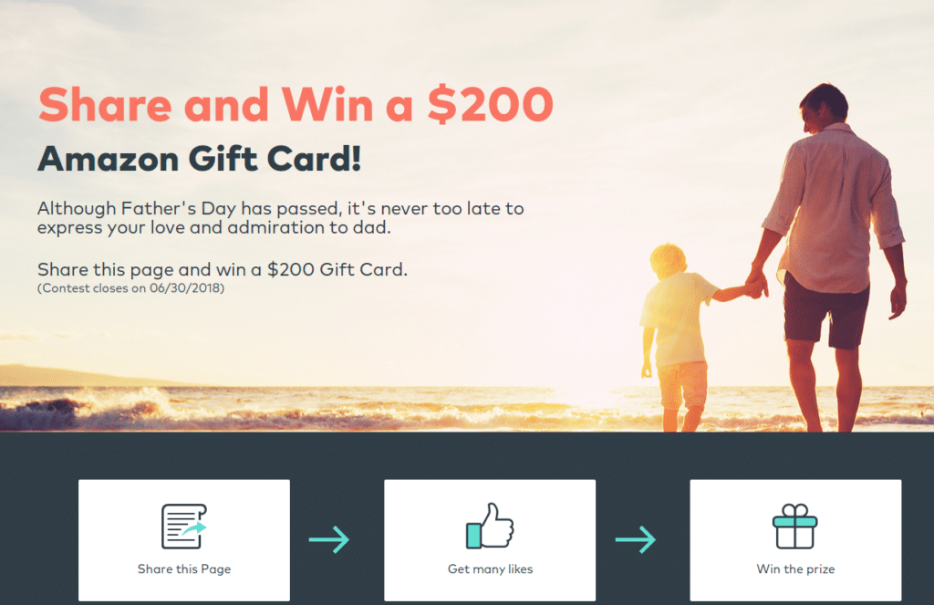 Wondershare Father's day giveaway 2018
