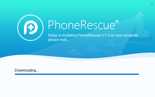 installing PhoneRescue for iOS in Windows