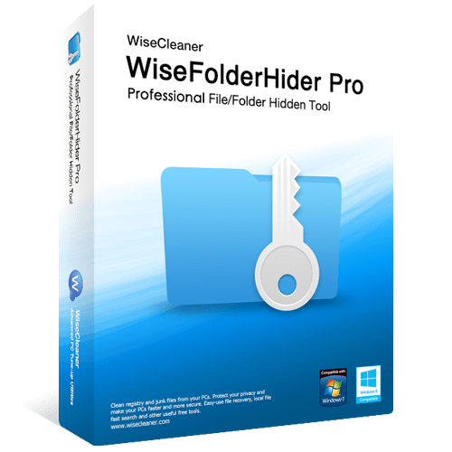 Wise Folder Hider Pro box