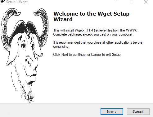Wget Example Windows