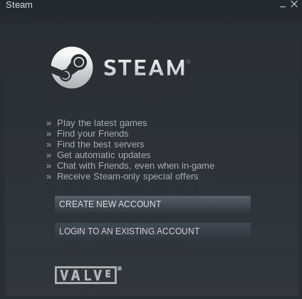 launching steam client in linux mint