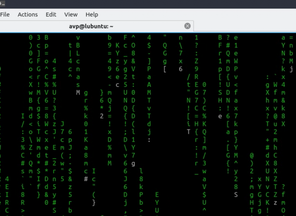 Display The Matrix Code Right From Within Linux Mint / Ubuntu
